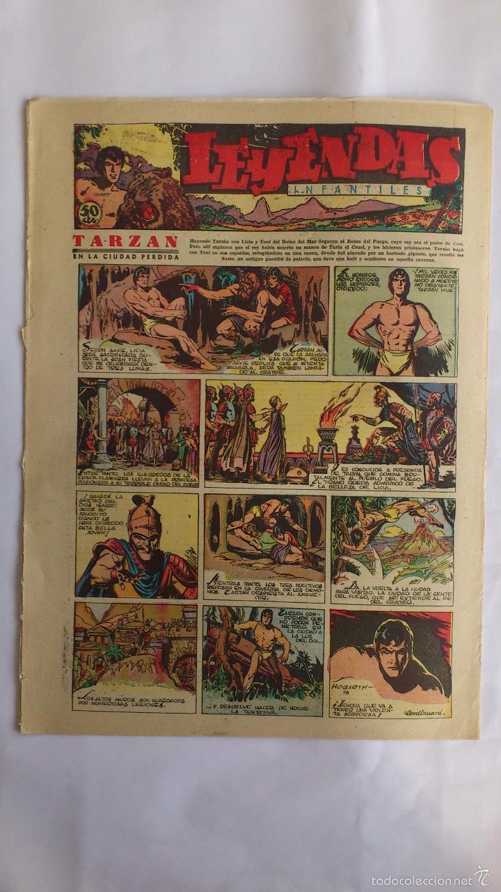 Tebeos: LEYENDAS INFANTILES, AÑO III - Nº 116 - Foto 2 - 56325577