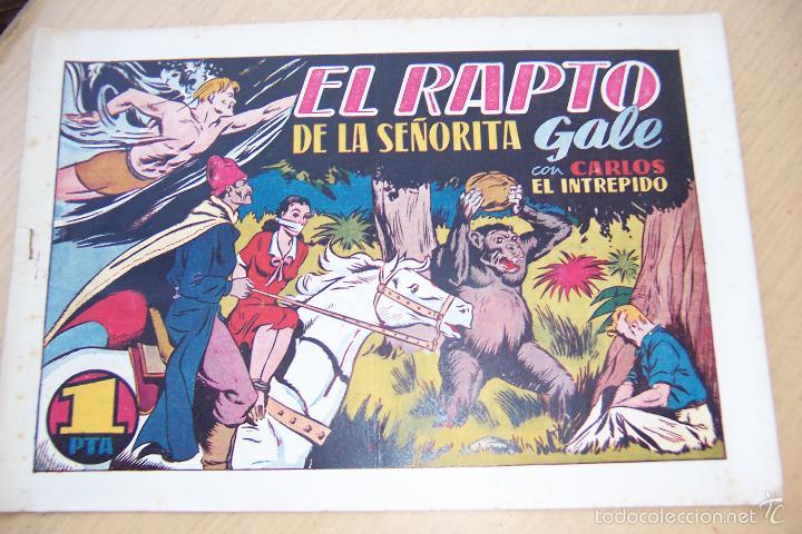 Tebeos: hispano americana. . lote carlos el intrépido formato grande los 18 que son - Foto 35 - 33139542