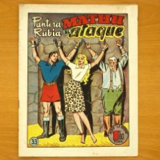 Tebeos: PANTERA RUBIA Nº 33 - EDITORIAL HISPANO AMERICANA 1949. Lote 56812555