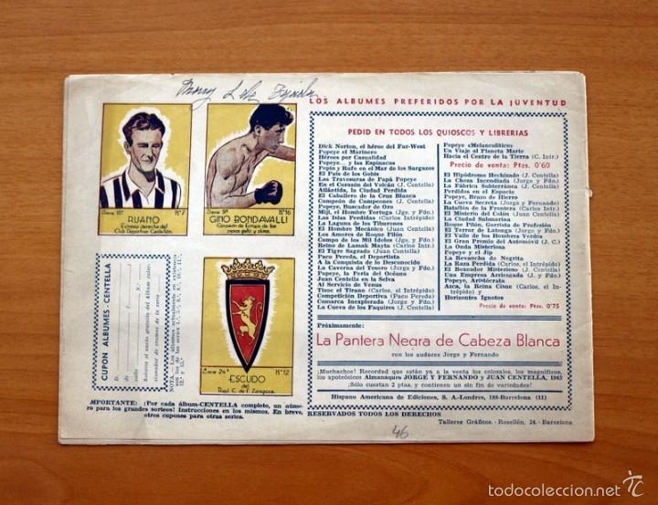 Tebeos: Juan Centella nº 46-Valor y lealtad - Editorial Hispano americana 1940 - Foto 2 - 56834028