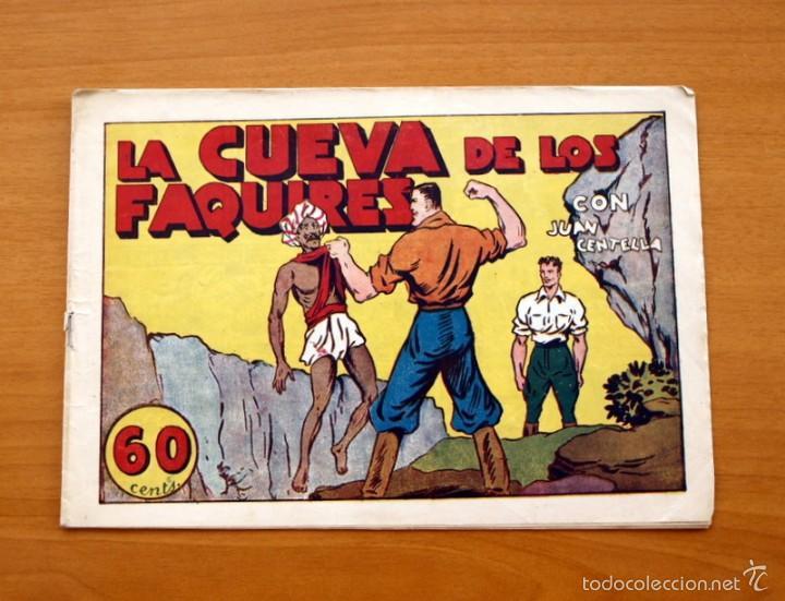 JUAN CENTELLA Nº 40-LA CUEVA DE LOS FAQUIRES - EDITORIAL HISPANO AMERICANA 1940 (Tebeos y Comics - Hispano Americana - Juan Centella)