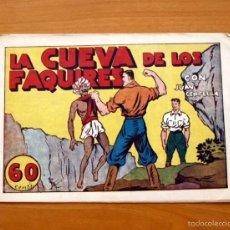 Tebeos: JUAN CENTELLA Nº 40-LA CUEVA DE LOS FAQUIRES - EDITORIAL HISPANO AMERICANA 1940. Lote 56834035