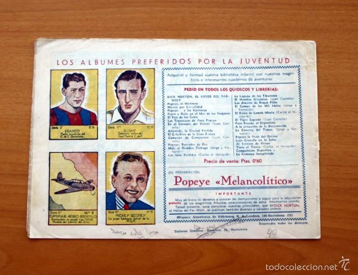 Tebeos: Juan Centella nº 40-La cueva de los faquires - Editorial Hispano americana 1940 - Foto 2 - 56834035