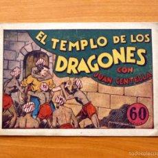 Tebeos: JUAN CENTELLA Nº 27-EL TEMPLO DE LOS DRAGONES - EDITORIAL HISPANO AMERICANA 1940. Lote 56834046