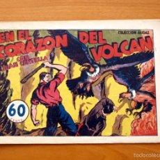 Tebeos: JUAN CENTELLA Nº 35-EN EL CORAZÓN DEL VOLCÁN - EDITORIAL HISPANO AMERICANA 1940. Lote 56834051