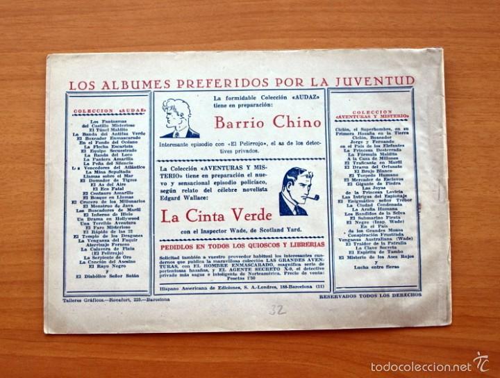 Tebeos: Juan Centella nº 32-La venganza de un bandido - Editorial Hispano americana 1940 - Foto 2 - 56834067