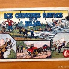Tebeos: JORGE Y FERNANDO Nº 28 LOS CAZADORES FURTIVOS DE LA SELVA - EDITORIAL HISPANO AMERICANA 1940. Lote 56863938