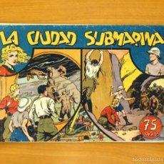 Tebeos: MARIA CORTÉS Y LA DOCTORA ALDEN, Nº 5 LA CIUDAD SUBMARINA - HISPANO AMERICANA 1942. Lote 56865997