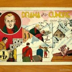 Tebeos: ALBUMES PREFERIDOS PARA LA JUVENTUD, Nº 18 - DRAMA EN LA CUMBRE - HISPANO AMERICANA 1942. Lote 56867188