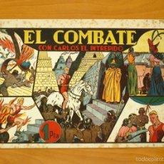 Tebeos: CARLOS EL INTRÉPIDO, Nº 10 EL COMBATE - EDITORIAL HISPANO AMERICANA 1942. Lote 56867246