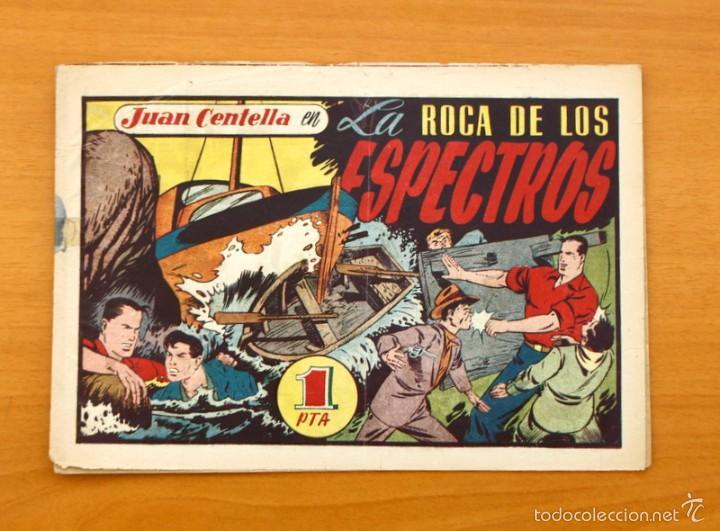 JUAN CENTELLA Nº 119-LA ROCA DE LOS ESPECTROS - HISPANO AMERICANA 1940 (Tebeos y Comics - Hispano Americana - Juan Centella)