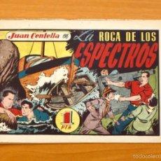 Tebeos: JUAN CENTELLA Nº 119-LA ROCA DE LOS ESPECTROS - HISPANO AMERICANA 1940. Lote 56868094