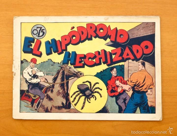 JUAN CENTELLA Nº 41-EL HIPÓDROMO HECHIZADO - HISPANO AMERICANA 1940 (Tebeos y Comics - Hispano Americana - Juan Centella)
