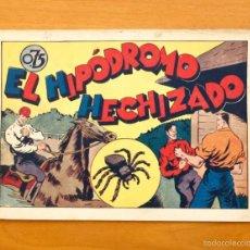 Tebeos: JUAN CENTELLA Nº 41-EL HIPÓDROMO HECHIZADO - HISPANO AMERICANA 1940. Lote 56868158