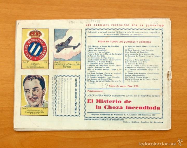 Tebeos: Juan Centella nº 41-El hipódromo hechizado - Hispano Americana 1940 - Foto 3 - 56868158