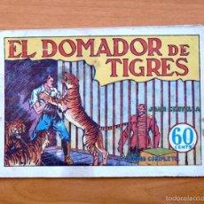 Tebeos: JUAN CENTELLA Nº 14 - EL DOMADOR DE TIGRES - HISPANO AMERICANA 1940. Lote 56868208