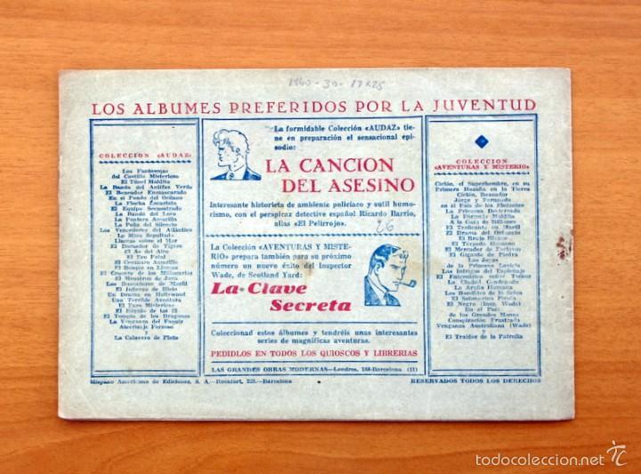 Tebeos: Juan Centella nº 30-La serpiente de oro - Hispano Americana 1940 - Foto 3 - 56868262