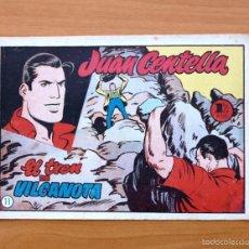 Tebeos: JUAN CENTELLA Nº 11 - EL TREN DE VILCANOTA - HISPANO AMERICANA 1955. Lote 56868309