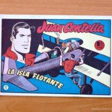 Tebeos: JUAN CENTELLA Nº 12 - LA ISLA FLOTANTE - HISPANO AMERICANA 1955. Lote 56868412