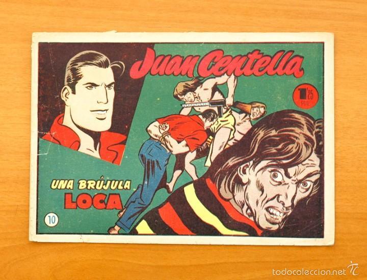 JUAN CENTELLA Nº 10 - UNA BRÚJULA LOCA - HISPANO AMERICANA 1955 (Tebeos y Comics - Hispano Americana - Juan Centella)
