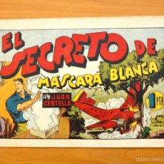 Tebeos: JUAN CENTELLA, Nº 70 EL SECRETO DE MÁSCARA BLANCA - EDITORIAL HISPANO AMERICANA 1940. Lote 56869403