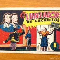 Tebeos: JUAN CENTELLA, Nº 69 EL LANZADOR DE CUCHILLOS - EDITORIAL HISPANO AMERICANA 1940. Lote 56869500