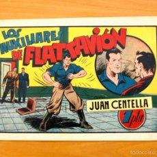 Tebeos: JUAN CENTELLA, Nº 71 LOS AUXILIARES DE FLATTAVIÓN - EDITORIAL HISPANO AMERICANA 1940. Lote 56873428