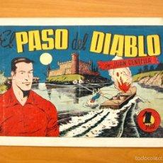 Tebeos: JUAN CENTELLA, Nº 64 - EL PASO DEL DIABLO - EDITORIAL HISPANO AMERICANA 1940. Lote 56873460