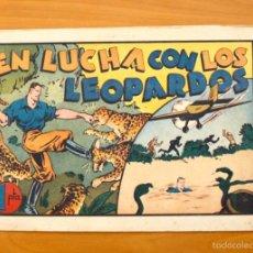 Tebeos: JUAN CENTELLA - Nº 54-EN LUCHA CON LOS LEOPARDOS - EDITORIAL HISPANO AMERICANA 1940. Lote 56873517