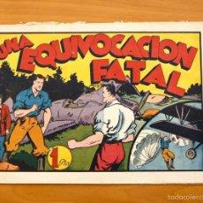 Tebeos: JUAN CENTELLA - Nº 50 UNA EQUIVOCACIÓN FATAL - EDITORIAL HISPANO AMERICANA 1940. Lote 56873542