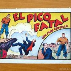 Tebeos: JUAN CENTELLA - Nº 60 EL PICO FATAL - EDITORIAL HISPANO AMERICANA 1940. Lote 56873632