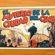 Tebeos: JUAN CENTELLA - Nº 48 EL MISTERIO DE LA CIUDAD DEL CINE - EDITORIAL HISPANO AMERICANA 1940. Lote 56873718