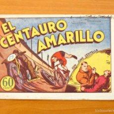 Tebeos: JUAN CENTELLA - Nº 17 - EL CENTAURO AMARILLO - EDITORIAL HISPANO AMERICANA 1940. Lote 56874440