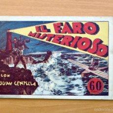 Tebeos: JUAN CENTELLA - Nº 25 EL FARO MISTERIOSO - EDITORIAL HISPANO AMERICANA 1940. Lote 56874538