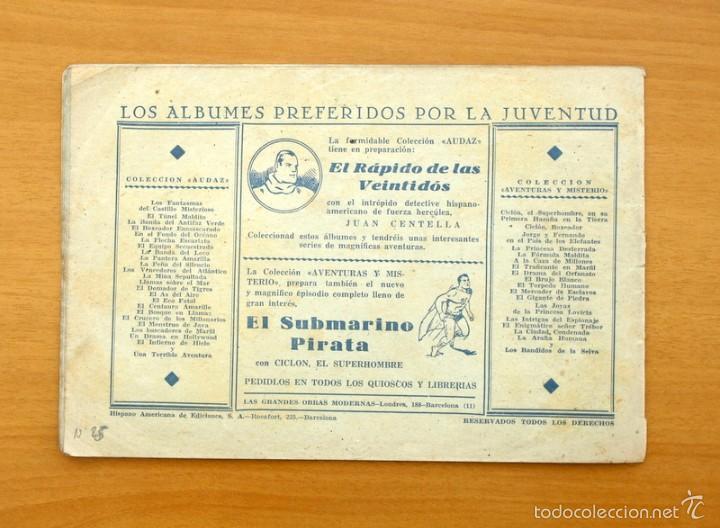 Tebeos: Juan Centella - nº 25 El faro misterioso - Editorial Hispano Americana 1940 - Foto 3 - 56874538