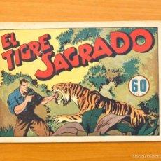 Tebeos: JUAN CENTELLA - Nº 38 EL TIGRE SAGRADO - EDITORIAL HISPANO AMERICANA 1940. Lote 56874578