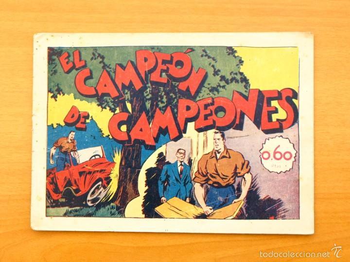 JUAN CENTELLA - Nº 36 EL CAMPEÓN DE CAMPEONES - EDITORIAL HISPANO AMERICANA 1940 (Tebeos y Comics - Hispano Americana - Juan Centella)