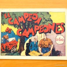 Tebeos: JUAN CENTELLA - Nº 36 EL CAMPEÓN DE CAMPEONES - EDITORIAL HISPANO AMERICANA 1940. Lote 56874708