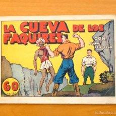 Tebeos: JUAN CENTELLA - Nº 40 LA CUEVA DE LOS FAQUIRES - EDITORIAL HISPANO AMERICANA 1940. Lote 56874793