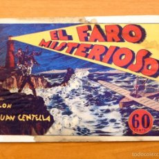 Tebeos: JUAN CENTELLA - Nº 25 EL FARO MISTERIOSO - EDITORIAL HISPANO AMERICANA 1940. Lote 56874930