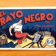 Tebeos: JUAN CENTELLA - Nº 31 EL RAYO NEGRO - EDITORIAL HISPANO AMERICANA 1940. Lote 56874973