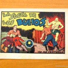 Tebeos: JUAN CENTELLA - Nº 94 LA SECTA DE LOS BUHOS - EDITORIAL HISPANO AMERICANA 1940. Lote 56875071
