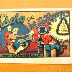 Tebeos: JUAN CENTELLA - Nº 93 EL IDOLO DE MARFIL - EDITORIAL HISPANO AMERICANA 1940. Lote 56875175