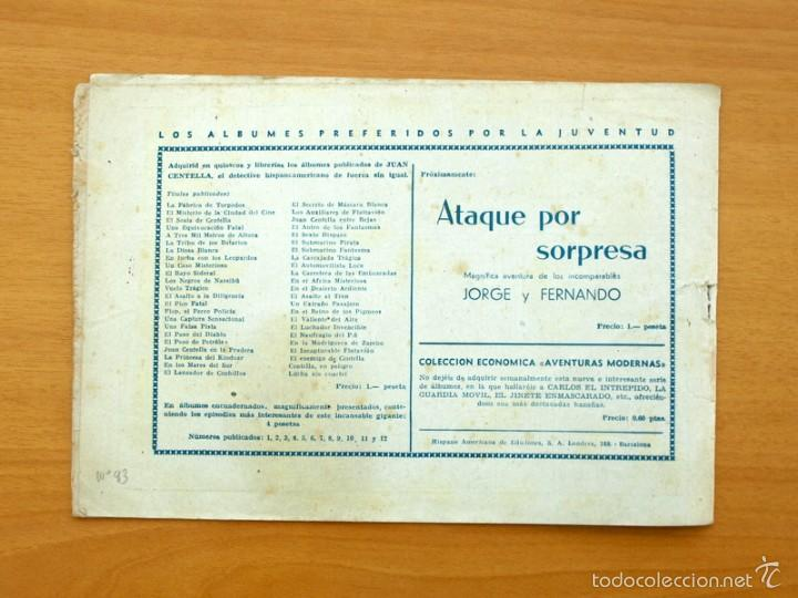 Tebeos: Juan Centella - nº 93 El idolo de marfil - Editorial Hispano Americana 1940 - Foto 3 - 56875175