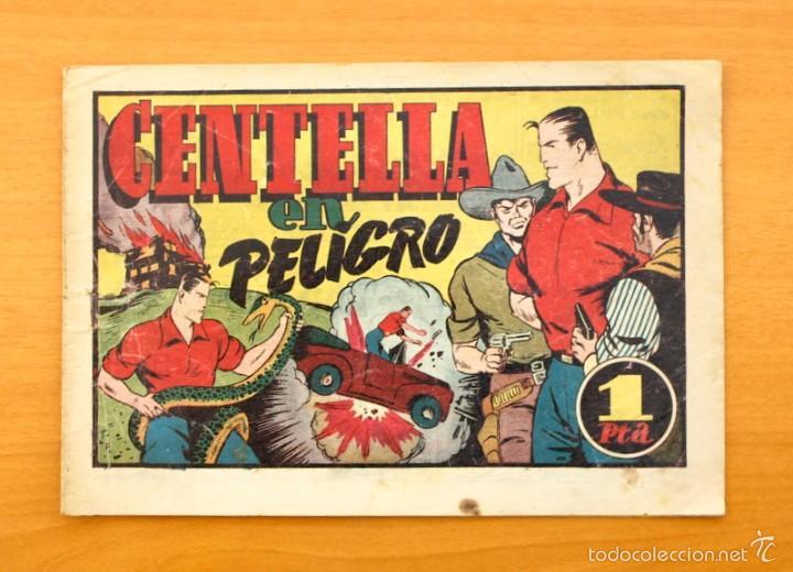 JUAN CENTELLA - Nº 91 CENTELLA EN PELIGRO - EDITORIAL HISPANO AMERICANA 1940 (Tebeos y Comics - Hispano Americana - Juan Centella)
