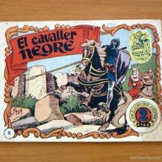 Tebeos: HISTORIA I LLEGENDA, Nº 11 EL CAVALLER NEGRE - EDITORIAL HISPANO AMERICANA 1956. Lote 56876957