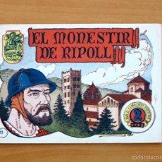 Tebeos: HISTORIA I LLEGENDA, Nº 10 EL MONESTIR DE RIPOLL - EDITORIAL HISPANO AMERICANA 1956. Lote 56877035