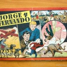 Tebeos: JORGE Y FERNANDO, ALBUM Nº 10 (ÚLTIMO)-EDITORIAL HISPANO AMERICANA 1944. Lote 56877283