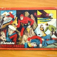Tebeos: HOMBRE ENMASCARADO, ALBUM Nº 8 (ÚLTIMO)-EDITORIAL HISPANO AMERICANA 1943. Lote 56877335