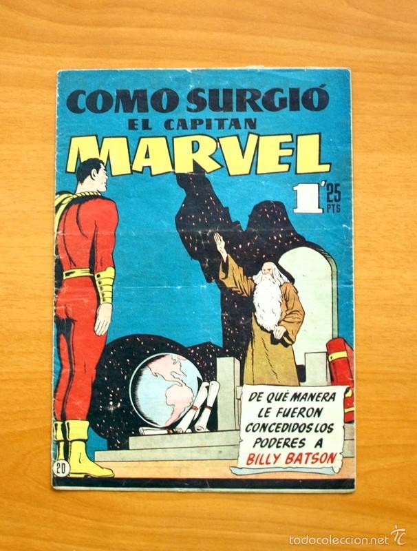 CAPITÁN MARVEL, Nº 20 Y ÚLTIMO - EDITORIAL HISPANO AMERICANA 1949 (Tebeos y Comics - Hispano Americana - Capitán Marvel)